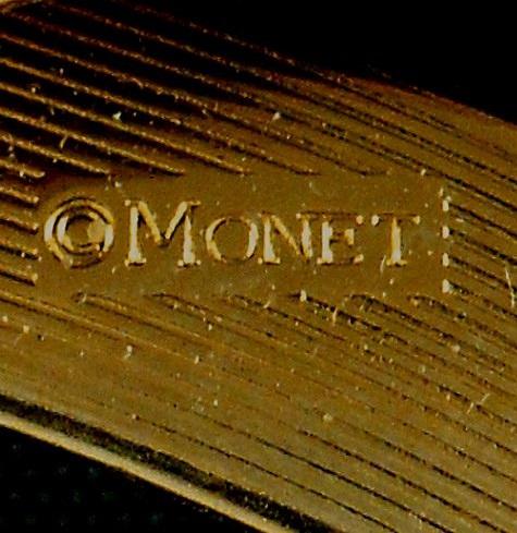 Monet Brooch Vintage Jewelry Mark