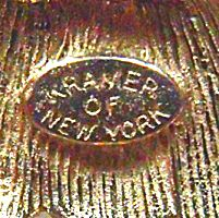 Kramer of New York Vintage Jewelry Research