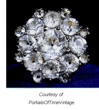 Rhinestone Antique Jewelry