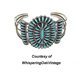 Zuni Vintage Southwestern Jewelry