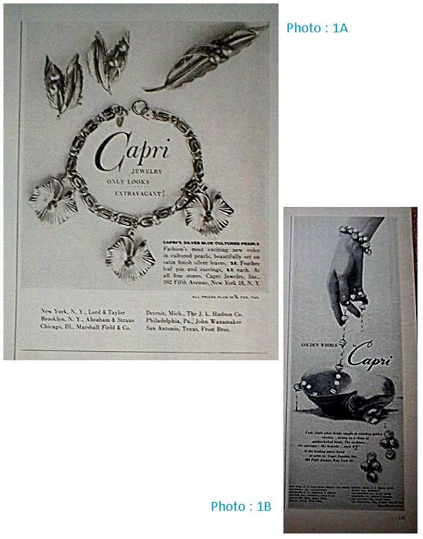 Capri Jewelry Inc