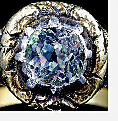 Georgian Era Jewelry collet