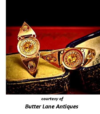 Georgian Era Jewelry Earrings
