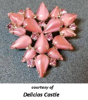 1950's Costume Jewelry Pastel