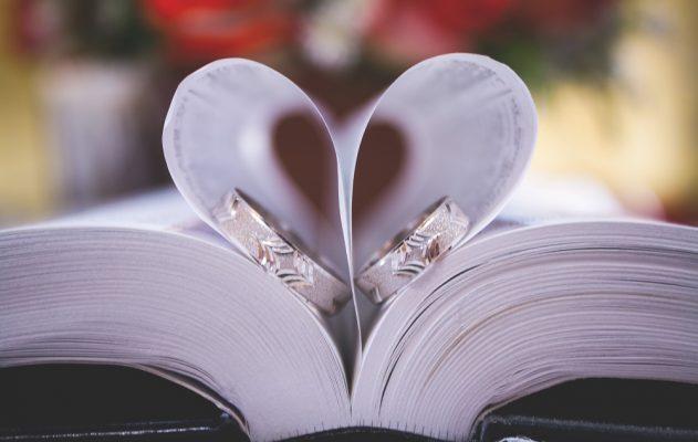 Paper heart First Wedding Anniversary