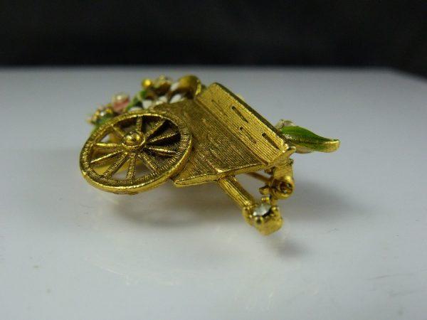 My Fair Lady Flower Cart