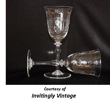 Victorian Romantic Dinner Crystal