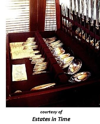 Victorian Romantic Dinner silverware